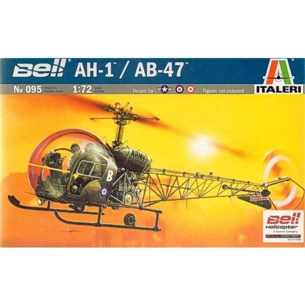 Bell AH-1/AB-47 Lightcopter Decals: Italian USAF RAF