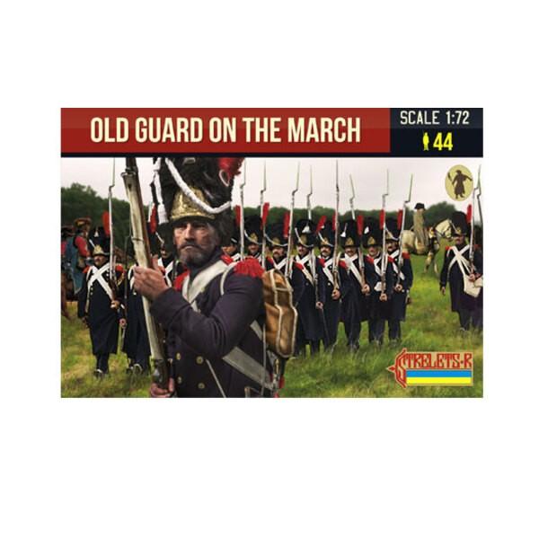 Vecchia guardia sul marzo napoleonico