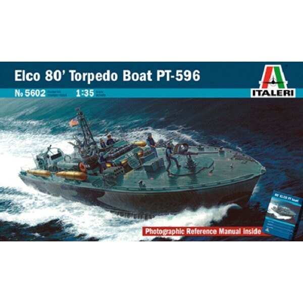 Limited Re-issue. Elco 80′ Torpedo Boat