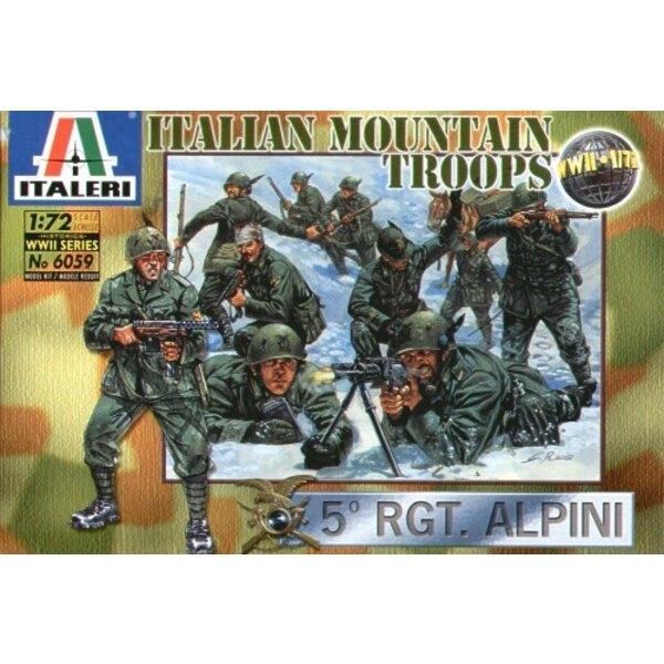 WWII Italian Mountain Troops