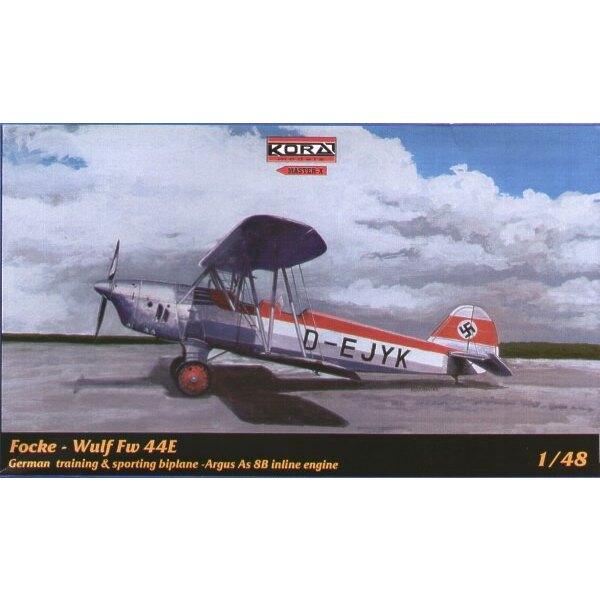 Focke Wulf Fw 44E with Argus 8B inline engine