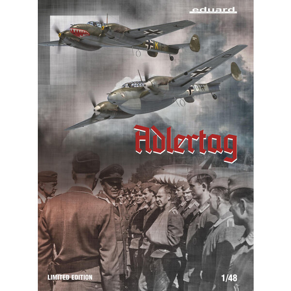 MESSERSCHMITT Bf110 C/D ADLERTAG, edizione limitata 1/48