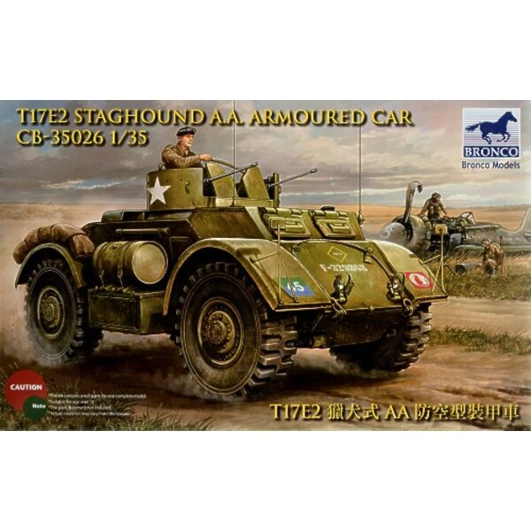 Staghound AA Armoured Car