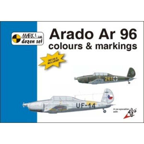 Arado Ar 96 Colour And Markings AND Decals (per i kit modello da Special Hobby)