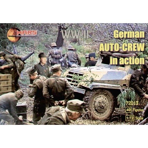 German WWII auto mechanics