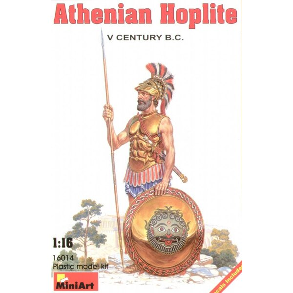 Athenian Hoplite V century B.C.