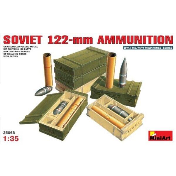 Soviet 122mm ammunition