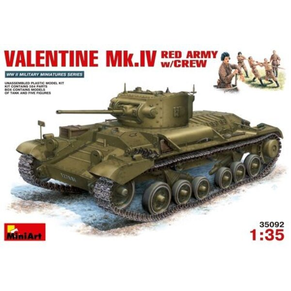 Valentine Mk.IV Red Army with Crew