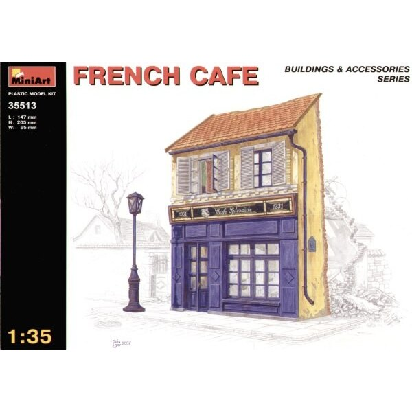 ruined French cafe