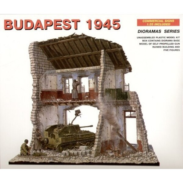 Budapest 1945 (SU-76 Buildings and Figures)
