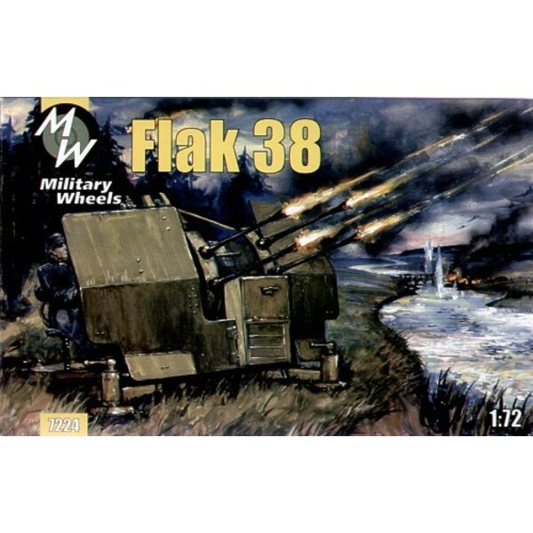 Flak 38 German