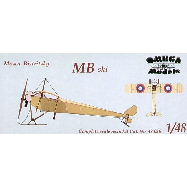 Mosca Bistriksky MB two seat Russian version with skis