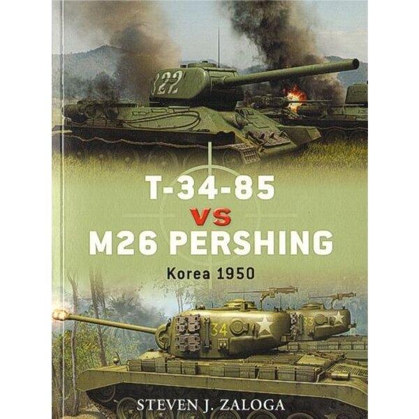T-34-85 vs M26 Pershing Korea 1950