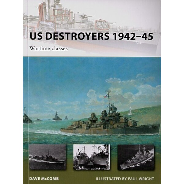US Destroyers 1942-45 Wartimes classes