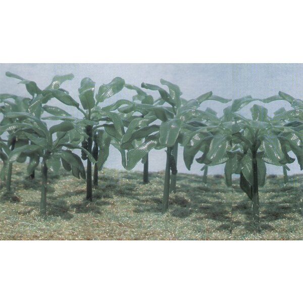 Banana Trees. 15 Trees in 90 parts good for War Gaming Train Layouts Shadow Projects School Projects Dioramas ans Architectural