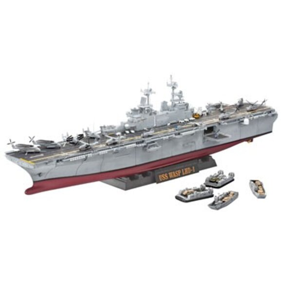 1:350 USS Wasp Class with Photo-Etch