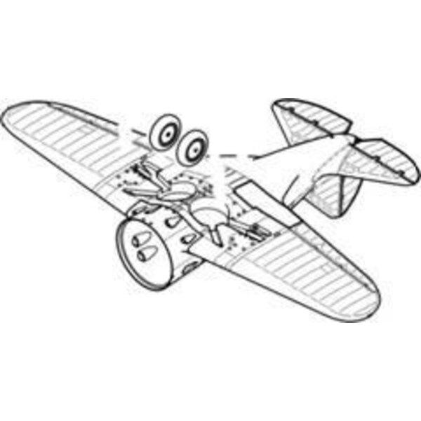 Polikarpov I-16 engine type 10/17 (per i kit modello da Eduard)