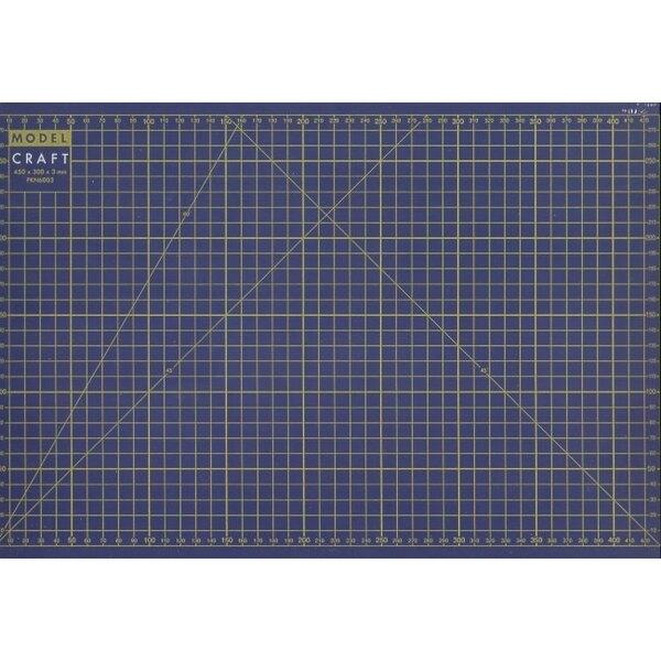 Tappeto da taglio formato A3 - dimensioni in millimetri - in A3 - 297 420 millimetri, 11,7 xx 16,5 in A4 - 210 297 millimetri-8.