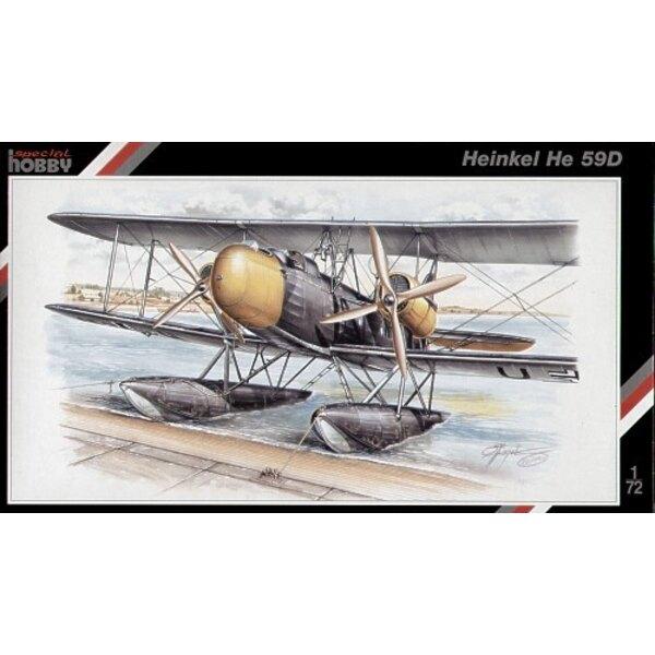 Heinkel He 59D/N float plane.