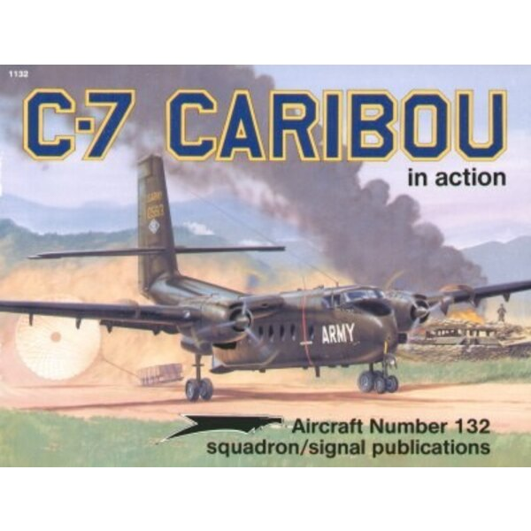 Libro C-7 Caribou (In Action Series)