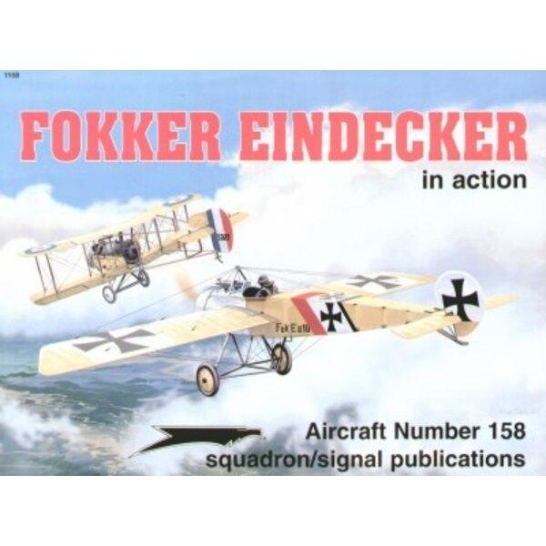 Libro Fokker Eindecker (In Action Series)