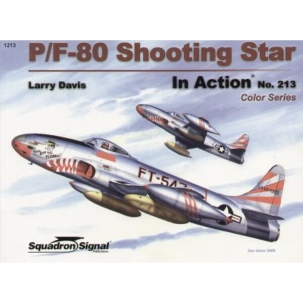 Livre Lockheed P-80 Shooting Star COLOUR (In Action Series)