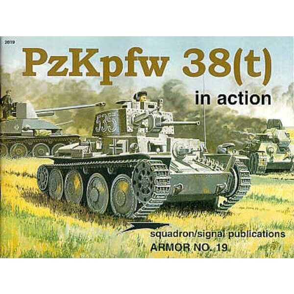 Pz.Kpfw.38(t) (In Action Series)