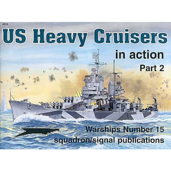 US Heavy Cruiser (In Action Series)