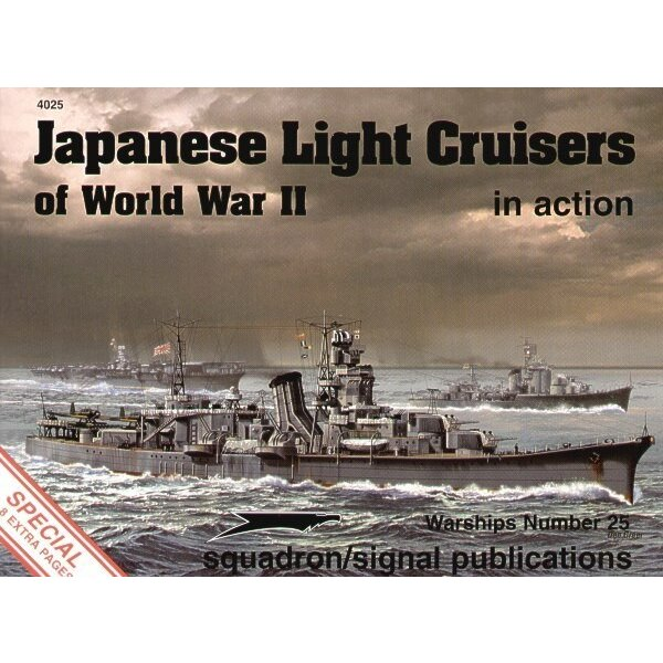 Japanese Light Cruisers (In Action Series)