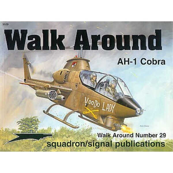 Libro Bell AH-1 Cobra (Walk Around Series)
