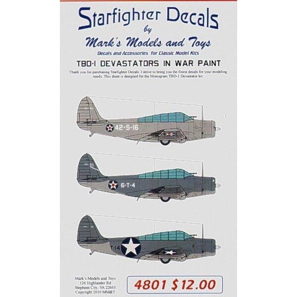 Douglas TBD Devastators at War