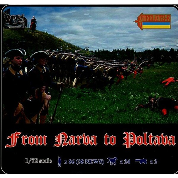 From Narva to Poltava (4 sets incl. old no.035 043 044)