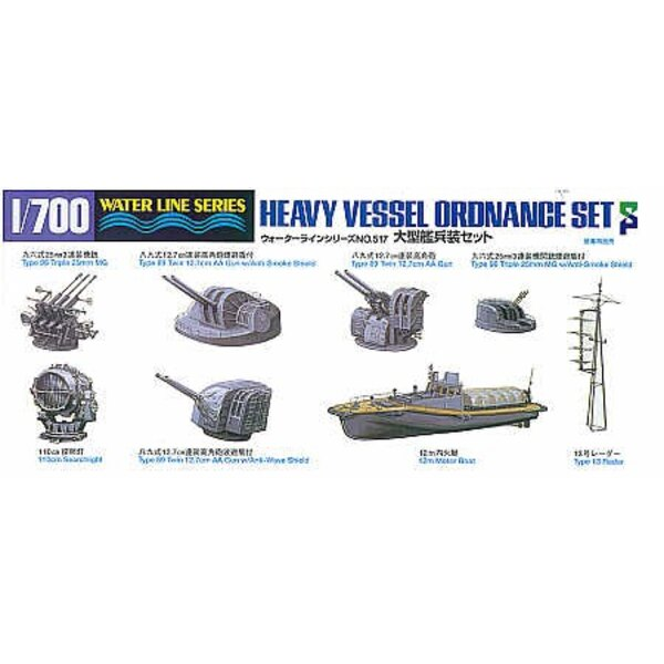 Heavy Vessel Ordnance Set