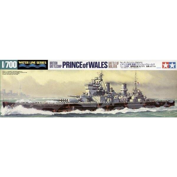 HMS Prince of Wales - Battle of Malaya
