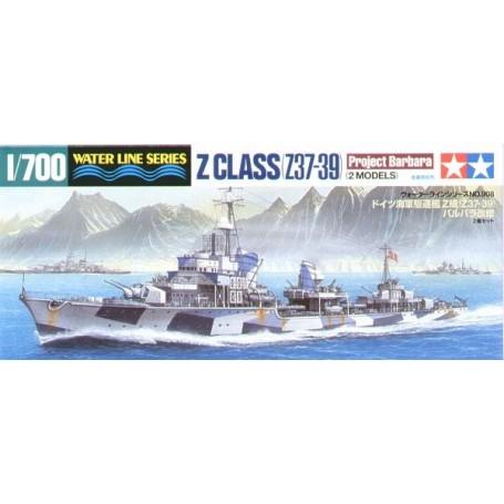 German Destroyer Z Class (Z37-39) Project Barbara (2 MODELS)