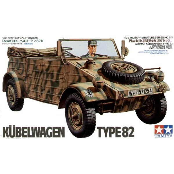Kubelwagen Type 82 & seated driver figure