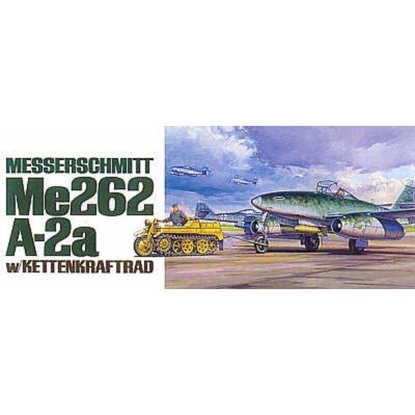 Messerschmitt Me 262 with Kettenkrad tow vehicle