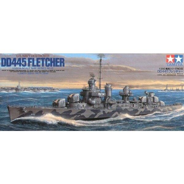 US Navy DD445 Fletcher
