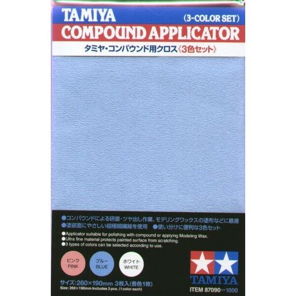 Compound Applicator Cloth x 3