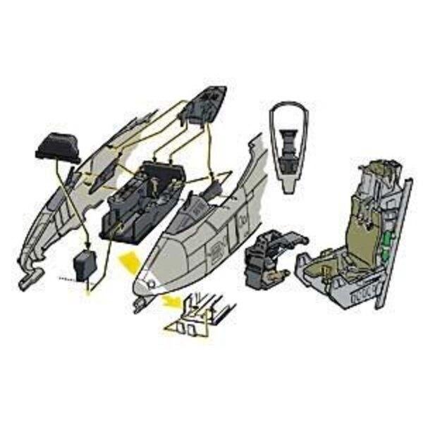 Fairchild A-10 Thunderbolt cockpit (per i kit modello da Monogram and Revell)