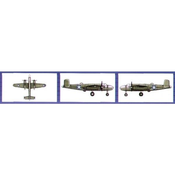 North American B-25B Mitchell (6 per box)