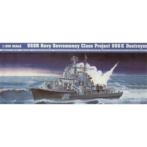USSR Navy Sovremenny Class Project 956E Destroyer
