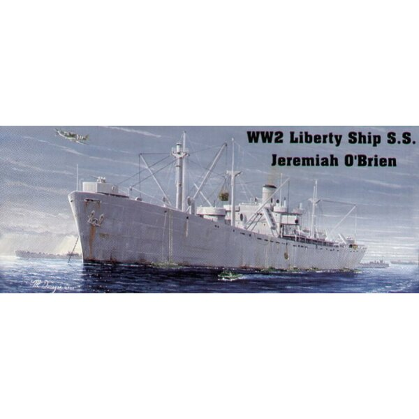 US Liberty Ship Jeremiah O′Brien (also with waterline hull option)
