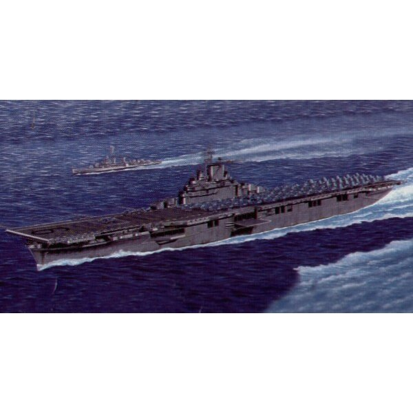 U.S. Aircraft Carrier CV-9 Essex (also with waterline hull option)
