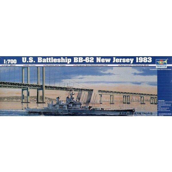 USS Battleship BB-62 USS New Jersey 1983