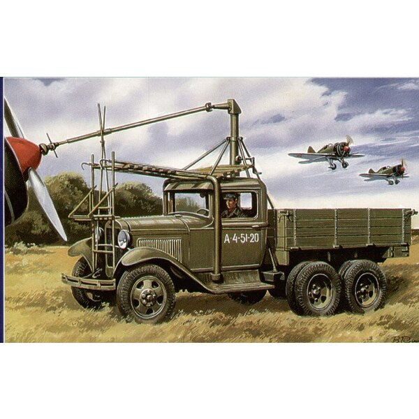 Airfield starter AS-2 on GAZ AAA chassis