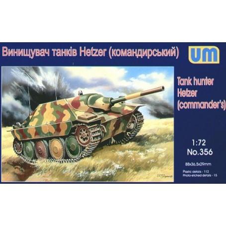 Hetzer Commanders version