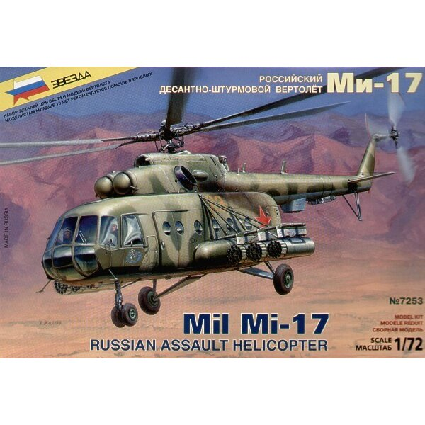 Mil Mi-17 Russian Assault Helicopter