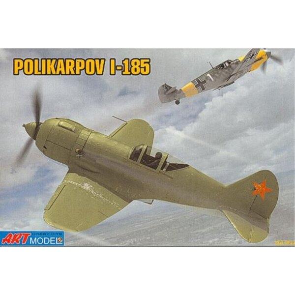 Polikarpov I-185 Soviet fighter