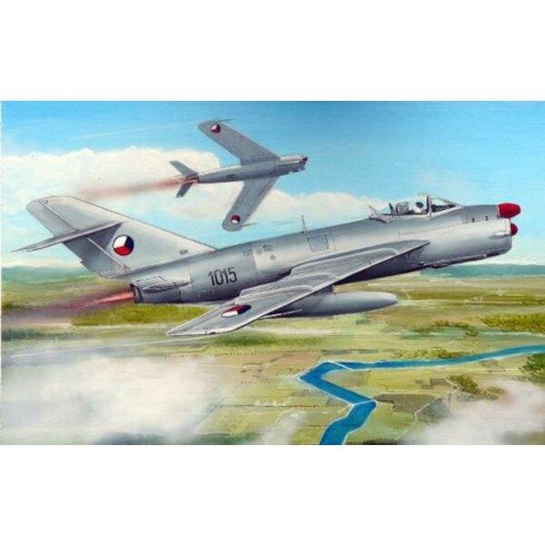 MiG-17PF Warsaw Pact - Czechoslovak AF, Polish AF, Hungarian AF, East German AF